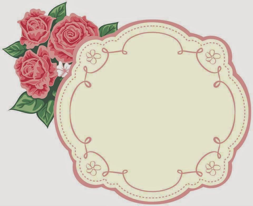 Flores marcos toppers o etiquetas para imprimir gratis for Layout di casa gratuito