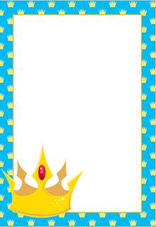 Marcos Invitaciones Tarjetas O Etiquetas Con Coronas