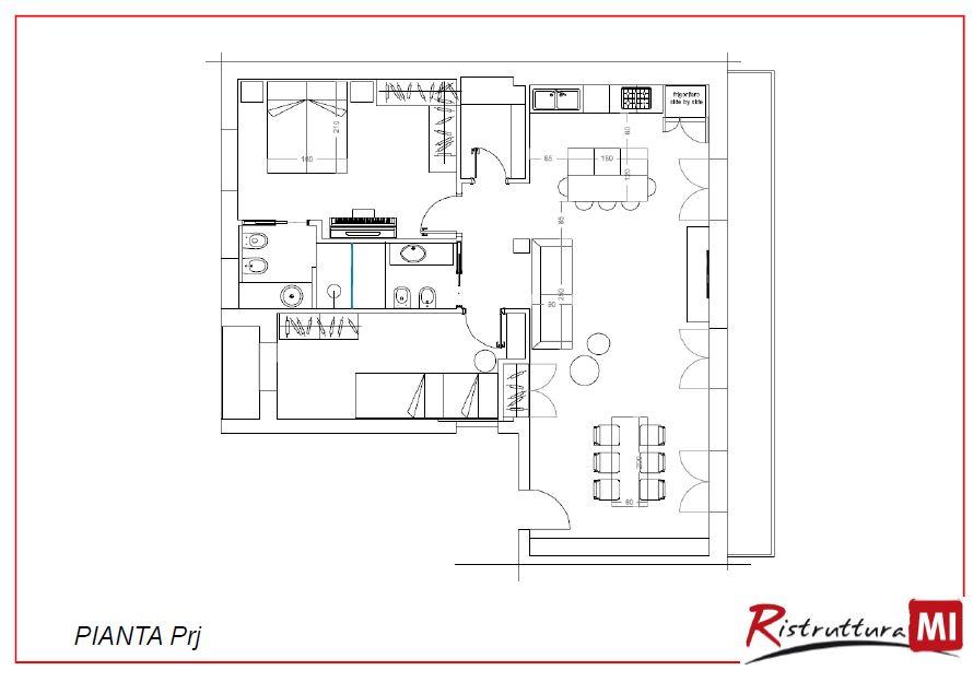 Soggiorno lungo e stretto idee per il design della casa - Divani stretti e lunghi ...