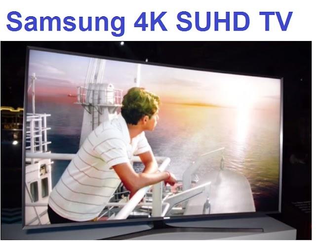Samsung 4K SUHD TVs with revolutionary Nano-crystal technology