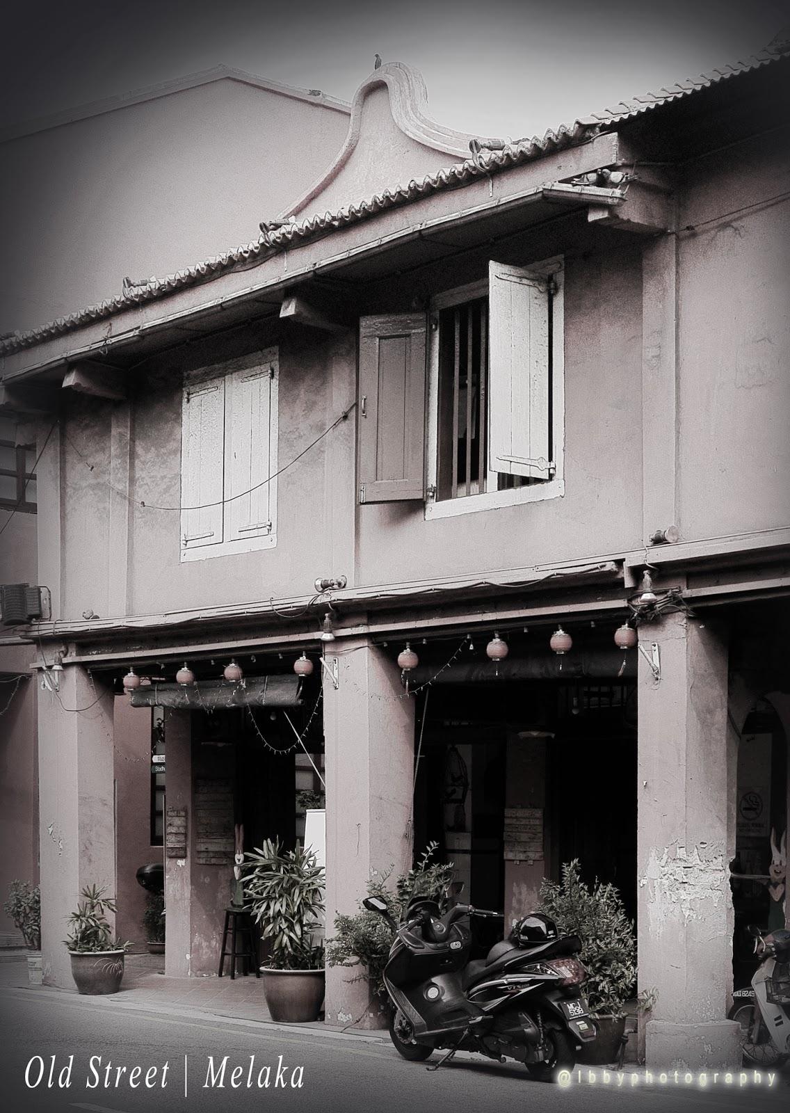 Old buildings Melaka