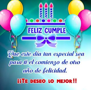 Feliz Cumpleaños Deseos 4