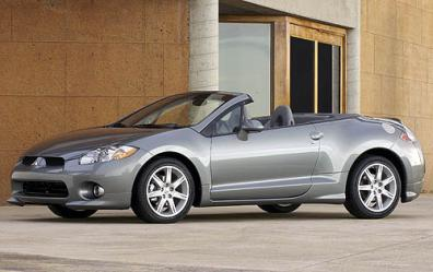 2008 Mitsubishi Eclipse Spyder Gt Convertible Shown