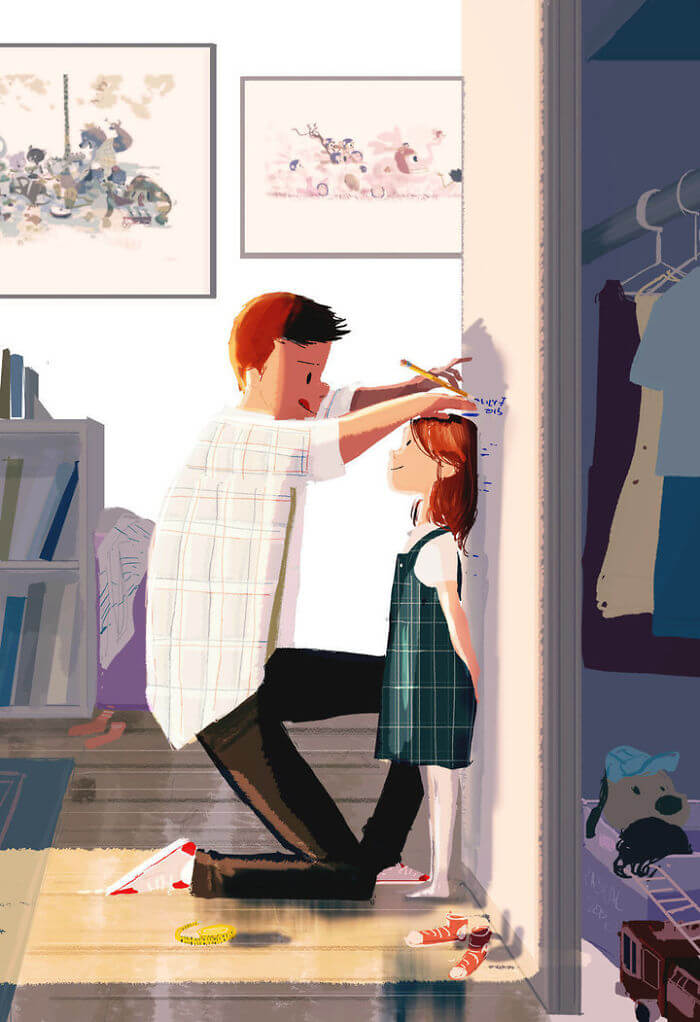 Man Creates Heartwarming Illustrations Of The Everyday Life With His Wife - Being proud of those little everyday accomplishments