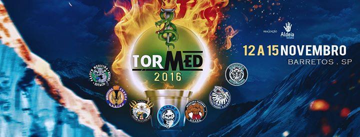 IV Tormed 2016 - Barretos-SP de 12 a 15 de novembro - Torneio Universitário de Medicina
