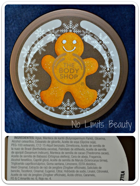 The Body Shop - Sparkle Ginger Body Butter
