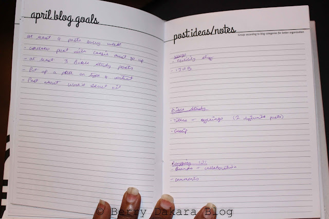 berry dakara, lifestyle blog, lifestyle blogger, nigerian blogger, african blogger, cassie daves blog planner