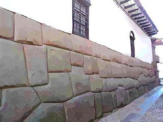 Antigos Muros Incas, em Cusco