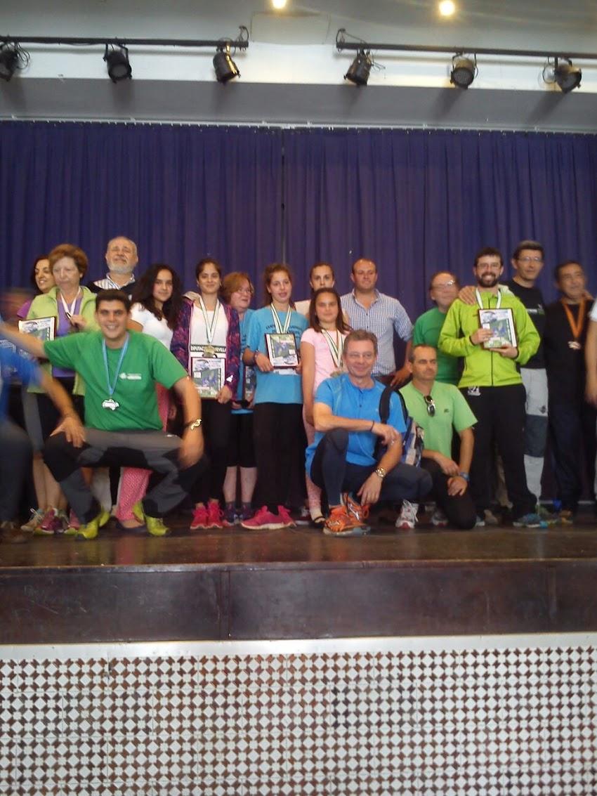 CLASIFICACIÓN FINAL COPA DE ANDALUCÍA DE MARCHA NÓRDICA EL ROQNUILLO 2016