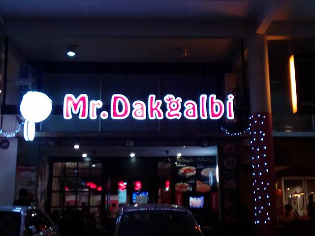 Mr Dakgalbi di Setapak