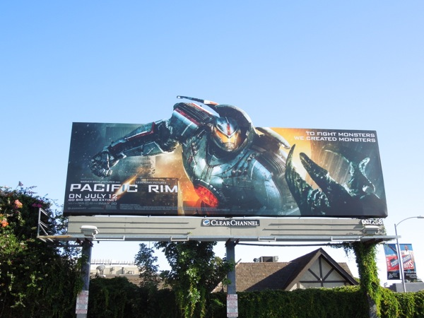 Pacific Rim extension billboard