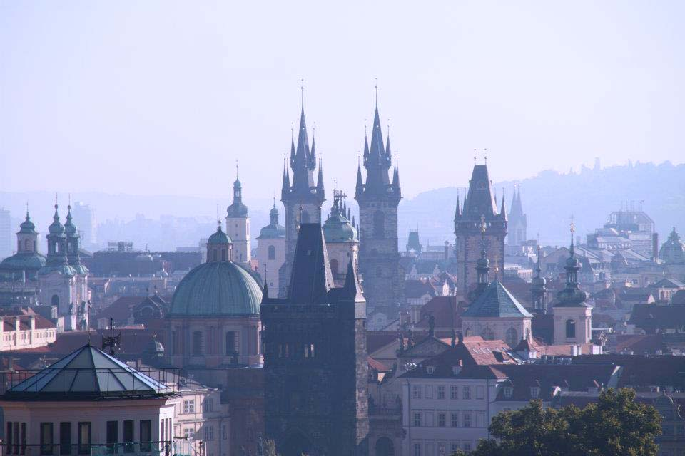 spires prague, city break in prague