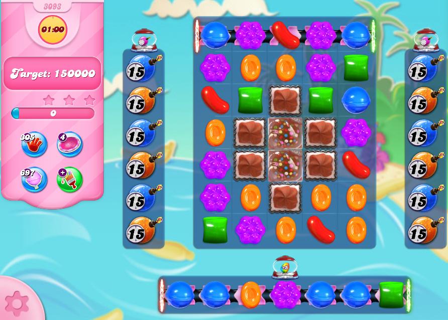 Candy Crush Saga level 3093