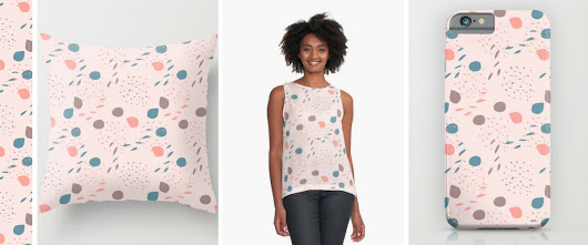 New Designs: Cats and Dots, and So it goes!