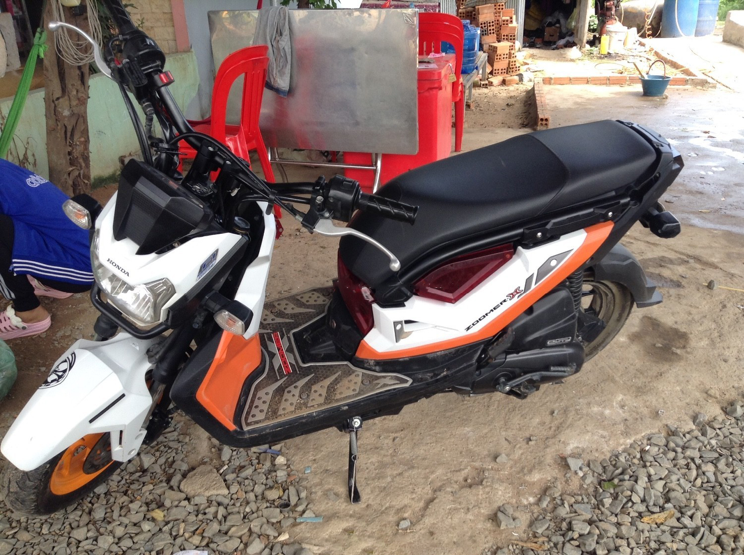 Hello Everybody This Is The New Model Of Honda Zoomer X 2017 But It No Tax Good Motobyce For Cambodia And Moto All People