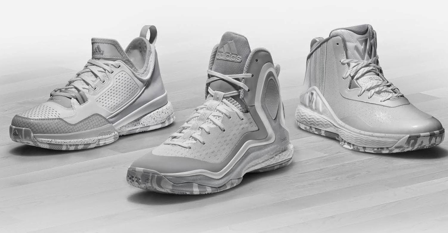 best service 92fe8 bc224 ... shoes from NBA All-Stars Damian Lillard, John Wall and Derrick Rose.  The Made in March footwear collection with be available March 6 at adidas.