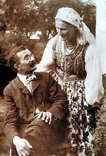 Włodzimierz Tetmajer z żoną