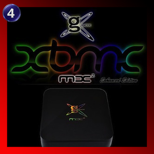 GBOX Midnight MX2 Best Media Server for Streaming on Android with XBMC