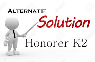Alternatif Penyelesaian Untuk Honorer K2