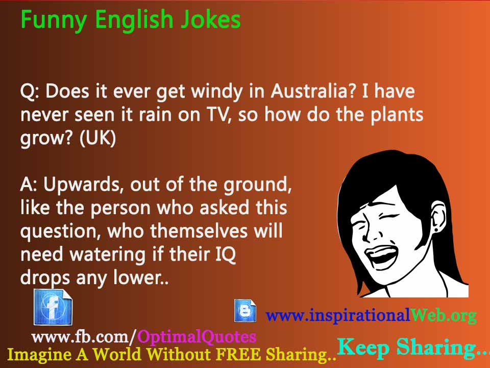 Funny Jokes In English