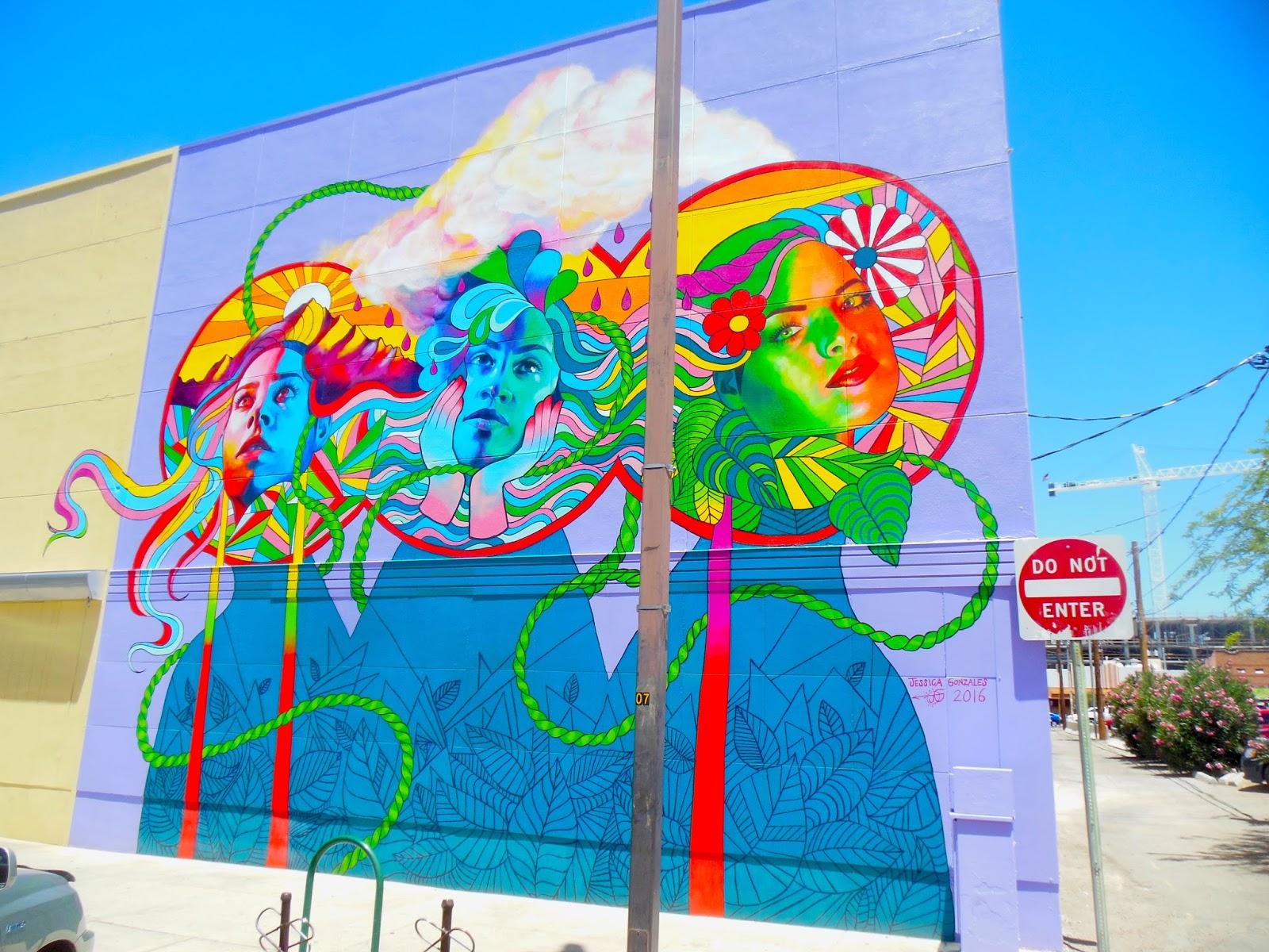 Tucson mural arts program for Thank you mural
