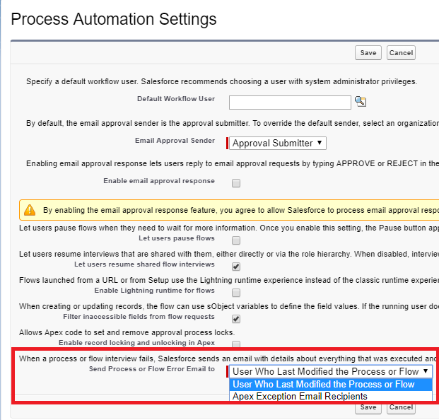 Visualforce Page Flow: Infallible Techie: Control Who Receives Flow And Process