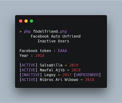 Tutorial Auto Unfriend Facebook Menggunakan Termux
