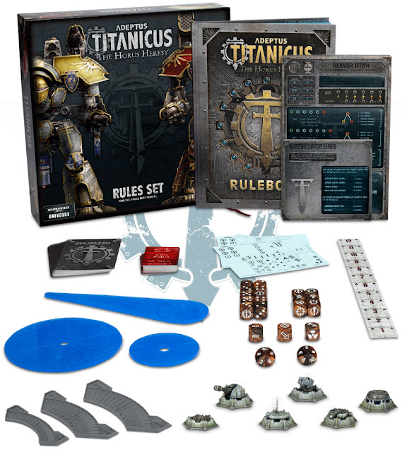 Games Workshop: Adeptus Titanicus Is Here - War On A New Scale!