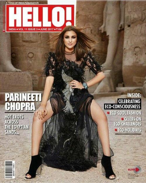 Parineeti Chopra On The Cover of HELLO Magazine Issue June 2017