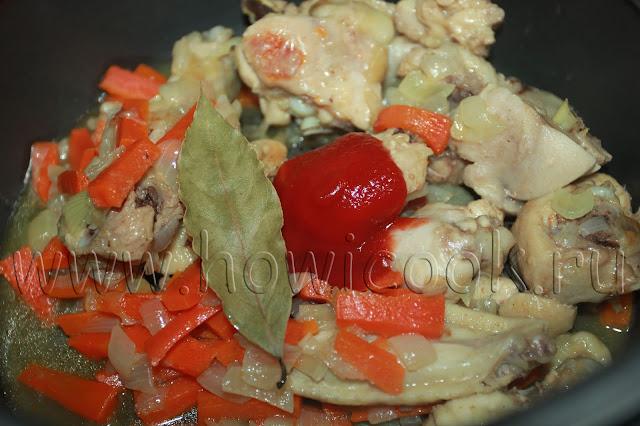 рецепт плова с курицей для детей с пошаговыми фото