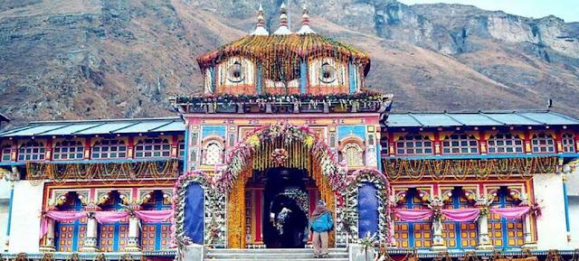 Badrinath mandir uttarakhand