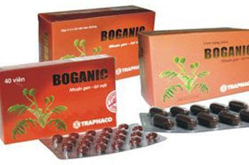 Thuốc bổ gan Boganic của công ty dược phẩm Traphaco