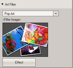 OV3: Fast Track RAW Development - Pop Art Menu Select