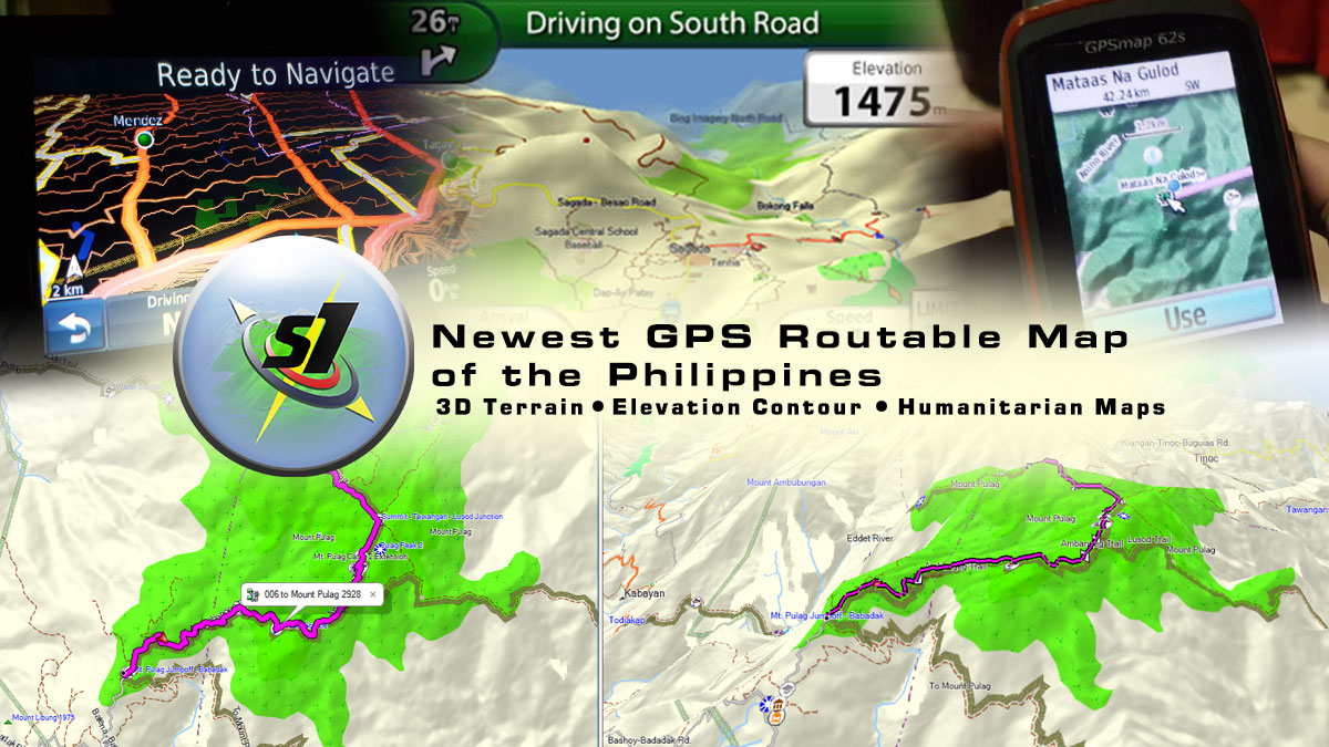 3D Terrain GPS Navigation Map of the Philippines   Newest GPS maps     3D Terrain GPS Navigation Map of the Philippines   Newest GPS maps in PH