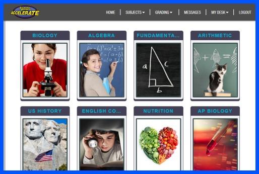 Standard Deviants- online homeschool learning