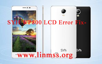 SYH WP800 LCD Error Fix (4 MB)