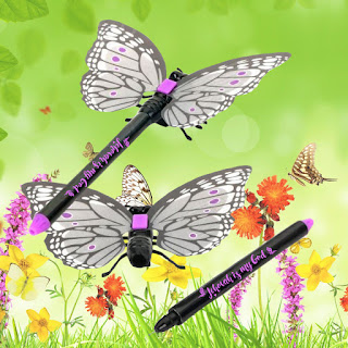 Jehovah Is my God butterfly pen