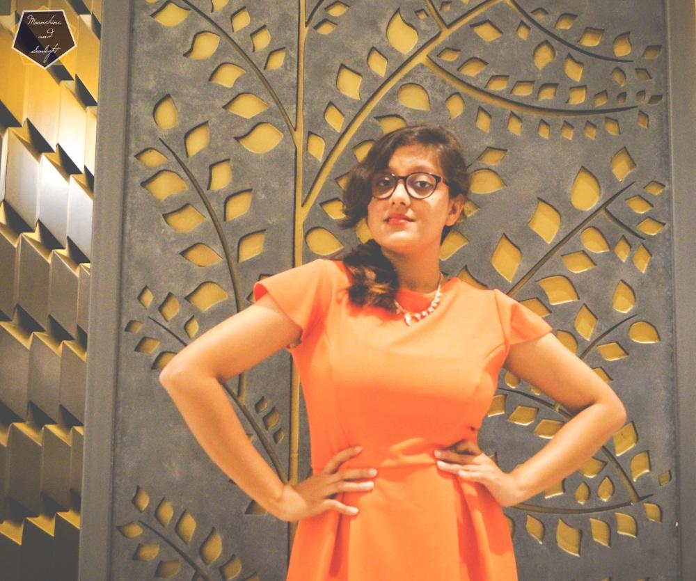 Indian Fashion blogger Grand mercure mysore