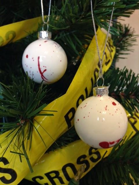 Bloody Christmas Tree.Mystery Playground Mystery Playground Christmas Crime