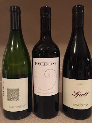 La Valentina wines of Abruzzo