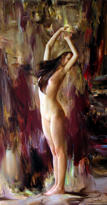 Saidov Aydemir 1979   Russian Realist painter