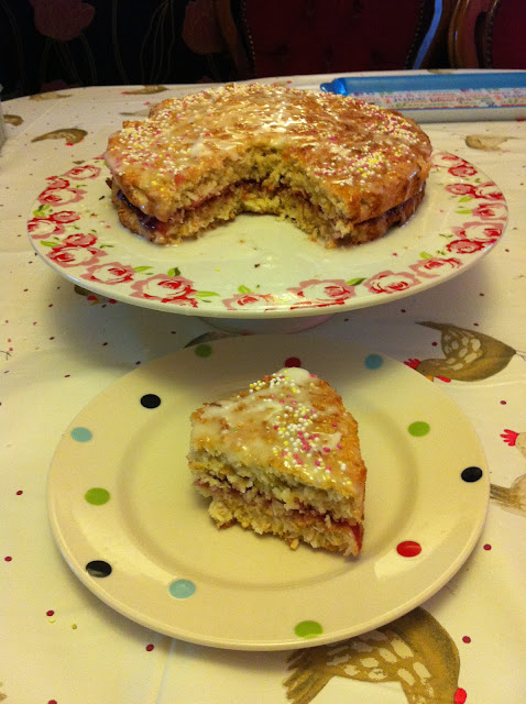 Low Fat Coconut Cake 34