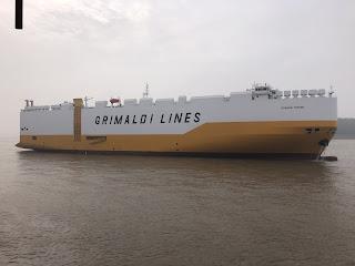 Il Gruppo Grimaldi prende in consegna  la Grande Torino