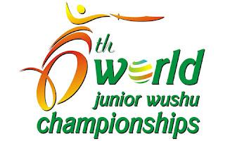 Официално лого на 6-тото световно по Ушу