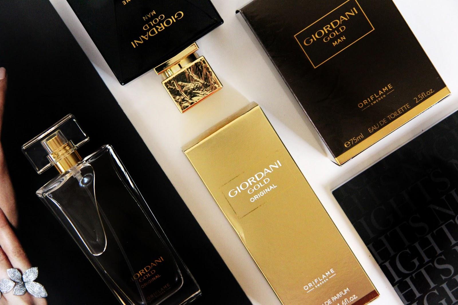 парфюмерный дуэт от Oriflame Giordani Gold Man и Giordani Gold