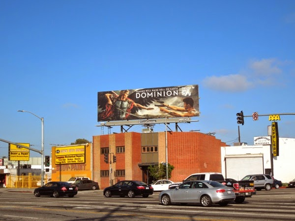 Dominion season 1 Syfy billboard