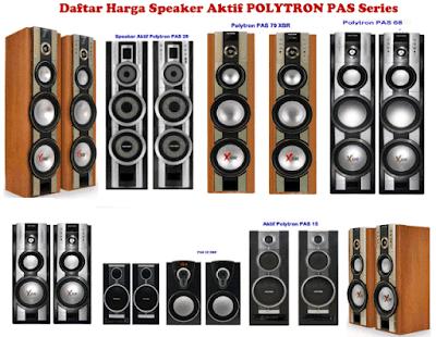 Harga Speaker Aktif Polytron