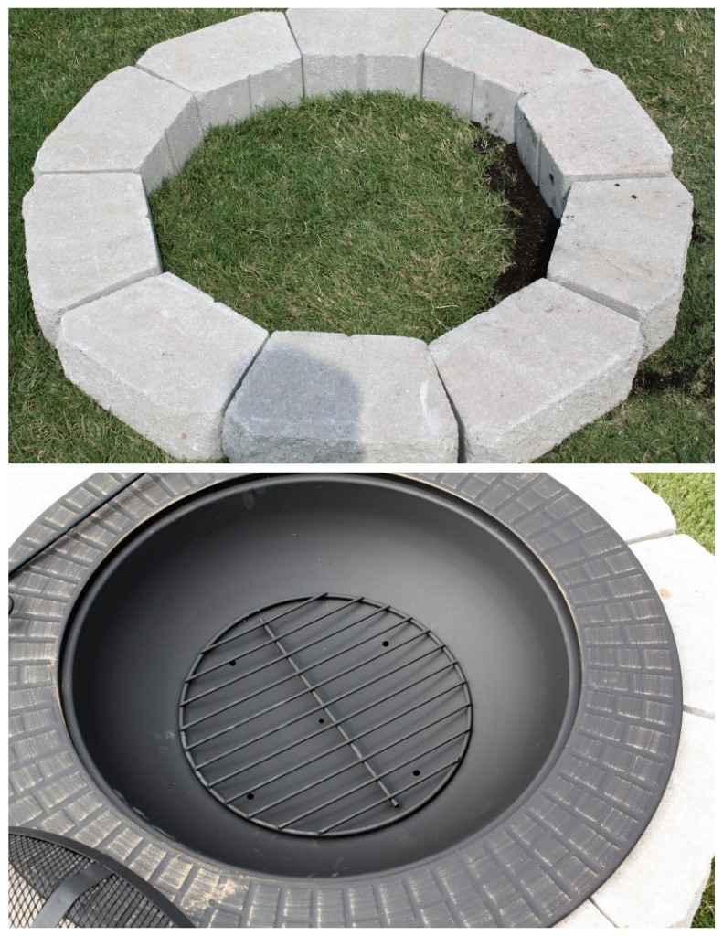 Get Started By Finding The Ideal Place In Your Back Yard For Fire Pit Make Sure To Pick An Area Where Ground Is Even And Clear From Any Debris