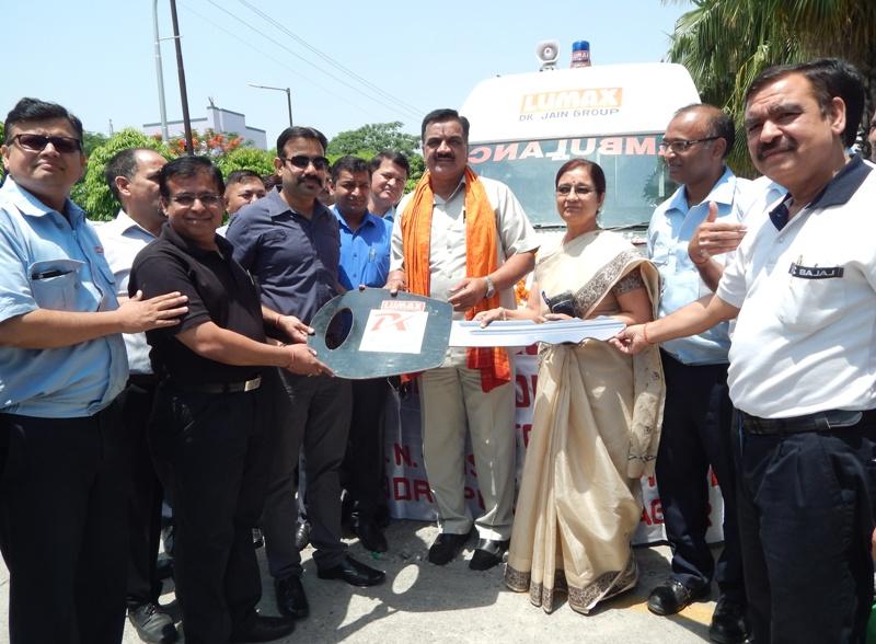 सीएसआर फण्ड से दी  11.5 लाख की एम्बूलेंस - Good Work Uttarakhand