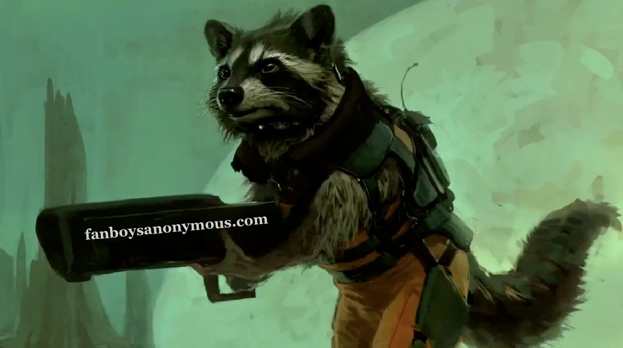 Bradley Cooper cast as Rocket Raccoon